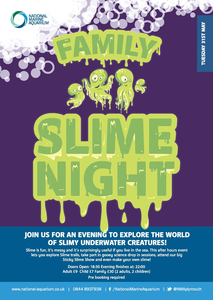 Family Slime Night poster