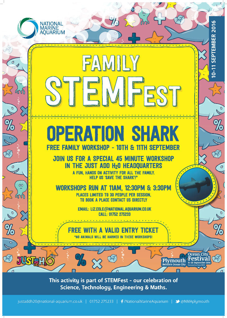 operations shark family flyer