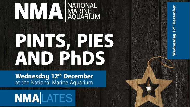 National Marine Aquarium | Christmas Days Out | Marine Biology Plymouth