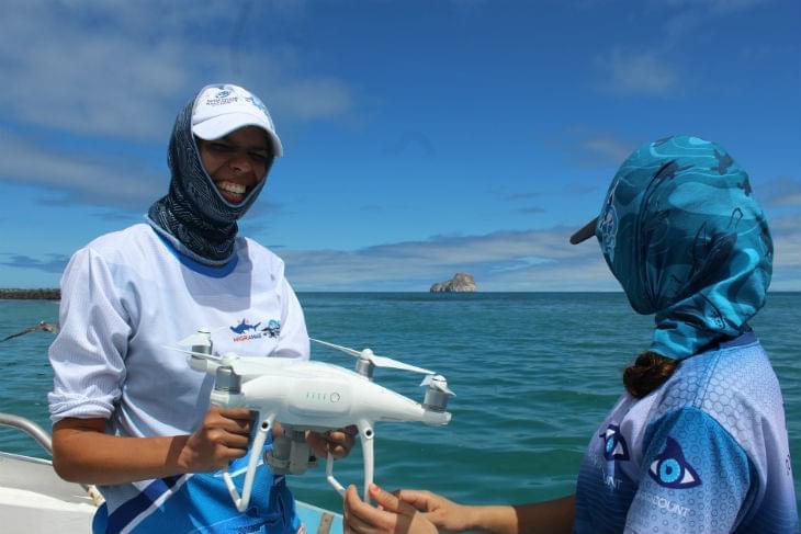 Blacktip-Shark-drones-Galapagos