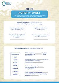 Activities Sheet 8-10