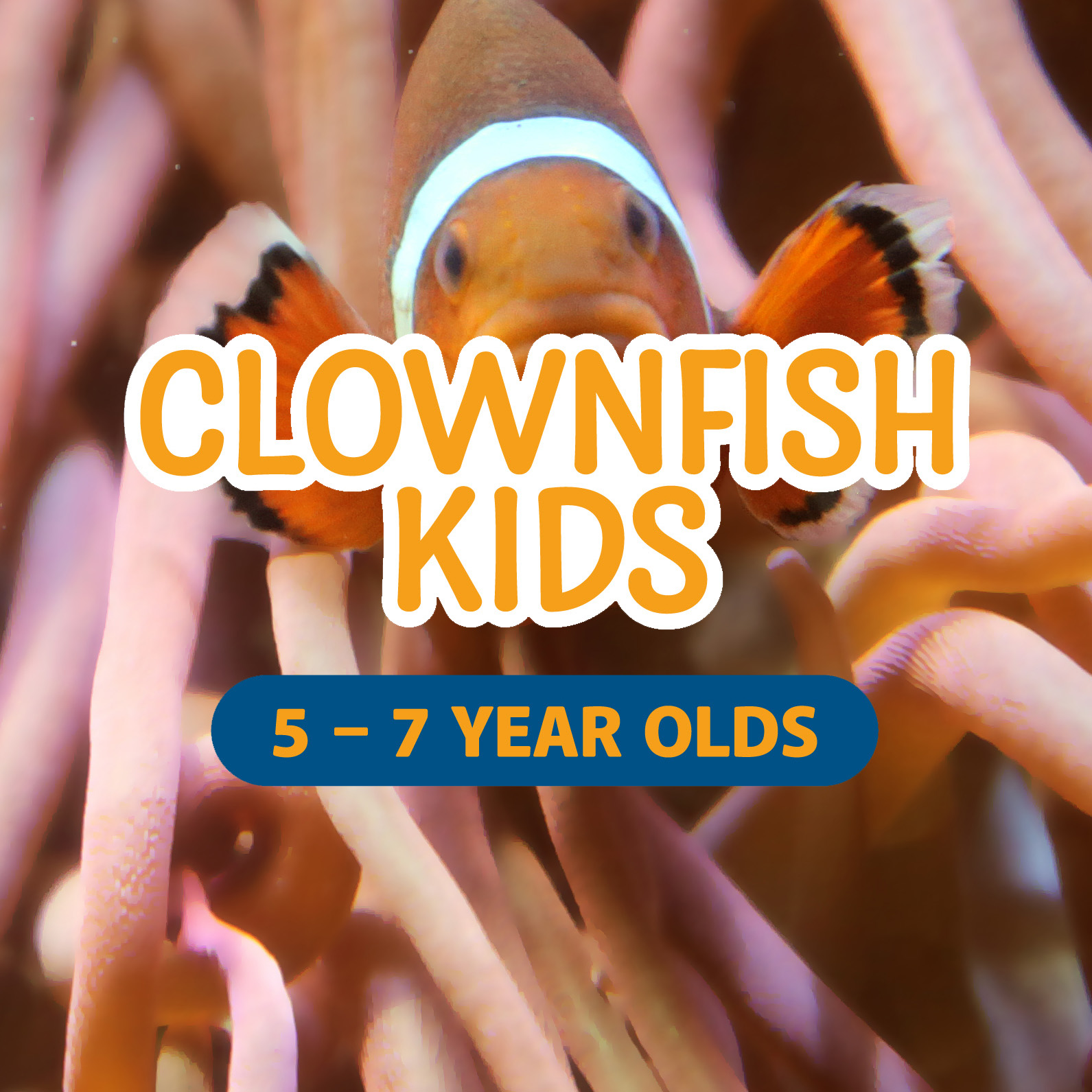 Clownfish Kids Party | 5 - 7 year olds