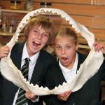 Children in Shark Jaw